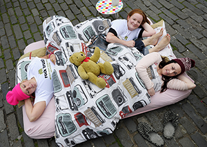 Sleep Out for charity