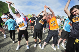 Limbering up for miles of fun-run