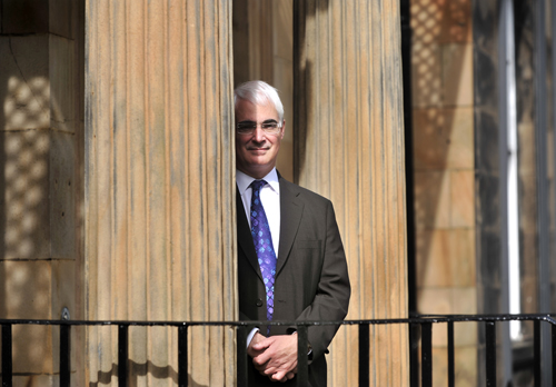Back into the shadows: Alistair Darling, soon to be moving to the opposition back benches, but currently Shadow Chancellor of the Exchequer and MP for Edinburgh South West