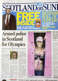 Edinburgh MoonWalk charity walker Zoe Orrin