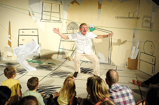 'Paperbelle' by childrens' theatre company Frozen Charlotte